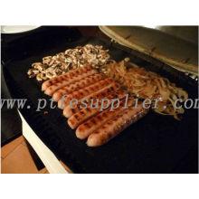 Churrasco rígida antiaderente Teflon Grill folha