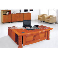 Oficina de oficina de diseño de la mesa, escritorio de oficina delantera, muebles de oficina de madera