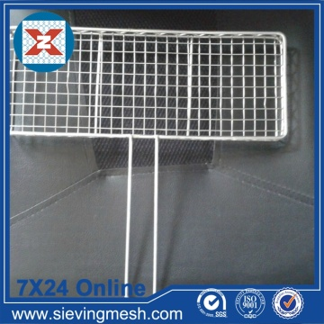 Mesh Barbecue Wire Crimped