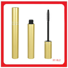Tube de maquillage pour mascara couleur or