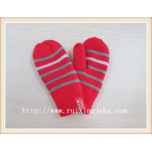 kid fashion stripped mittens