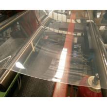 Chaîne de production transparente d'extrusion de feuille molle de PVC
