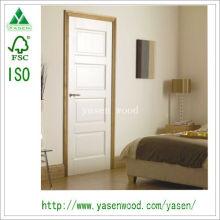 Puerta de la habitación interior / Puerta de madera blanca