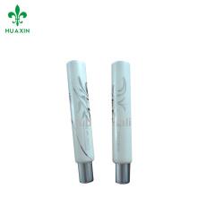 meifubao 15 ml pequeño cosmético plástico suave labial tubo transparente envases de tubo de plástico