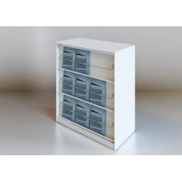 3-Layer Metal Commercial Magazine Rack