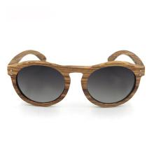Gafas de sol polarizadas a medida del hombre de madera del diseñador de la marca FQ
