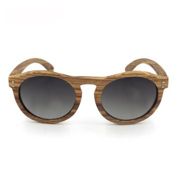 Óculos de sol polarizados feitos sob encomenda do homem de madeira do desenhista de marca do FQ