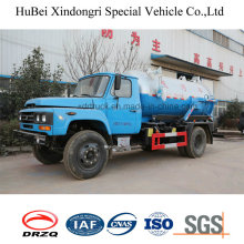 6cbm Sewage Suction Truck Dong Feng Brand