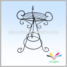 Hangzhou flower stand metal wire weedig artificial Antique Flower Stands