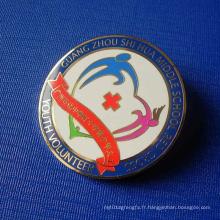 Épinglettes en émail sportif, badge avec motif spécial (GZHY-SE-039)