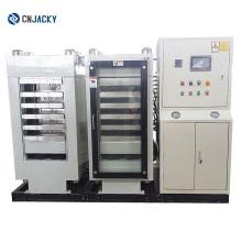 Máquina automática de laminação térmica de chapas de plástico e PVC