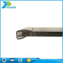 Beste Wahl klar Doppelwand Polycarbonat Verriegelung System Blatt Fabrik