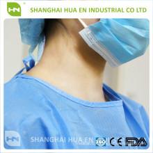 Robe chirurgicale pour hôpitaux jetables en Chine
