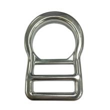 AD243 Équipement de protection en alliage d'aluminium forgé D-anneau de sécurité