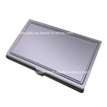 Kundenspezifischer Metallgeschenk-Visitenkarten-Halter