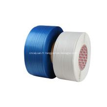 Ruban de cerclage d'emballage en plastique de boîte de liaison de pp