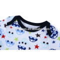 0-3 months soft stylish organic cotton baby boy clothes printed baby clothes set romper