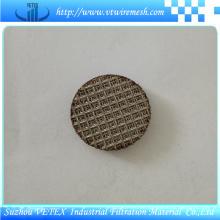 Disco de filtro sinterizado de acero inoxidable