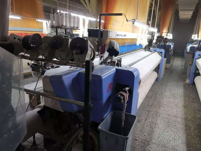 Jacquard rapier loom