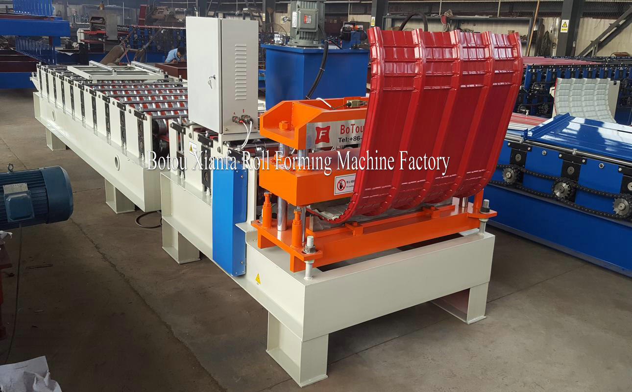 arching forming machine