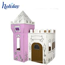 coloridos muebles de cartón de cartón para niños