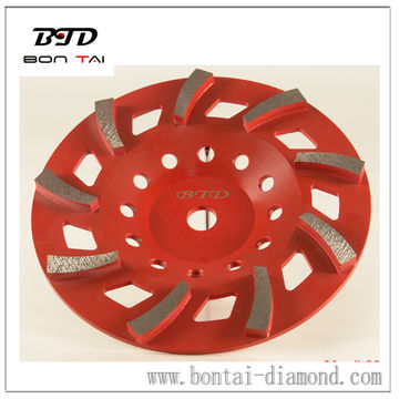 Fan Diamond Turbo Cup Wheels for longer life