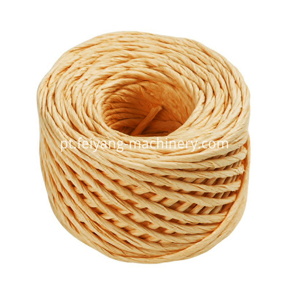 Brown Color Twisted Paper Rope