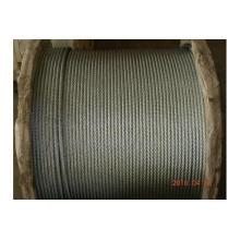 Fil d'acier galvanisé Rop 6 * 12 + 7FC fabriqué en Chine
