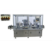 Máquina de enchimento de líquidos e garrafas de alta velocidade