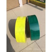 Blaues und gelbes Reflexband