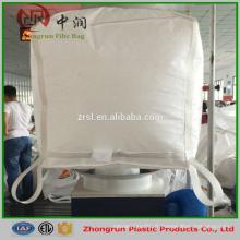 Grands sacs faits sur commande de fibc de polypropylène 1 tonne 1.5 tonne pour le grain, le sucre, le riz, le sel, le blé, le maïs etc.