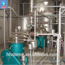 Planta de refinaria de óleo de soja, máquina de processamento de óleo de soja