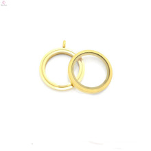 30mm round matte color twist screw stainless steel floating charms lockets wholesale,gold locket designs
