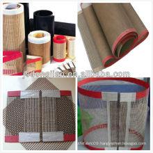 open mesh PTFE teflon glass belt