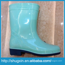 fashion cartoon pvc rain boot for girls and boys