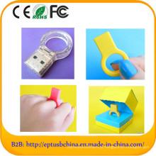 Mini memória flash anel USB Gadget para presentes da promoção (et388)