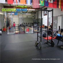 Top Quality Gym Fitness Exercise Shock Absorption Rubber Flooring for Export