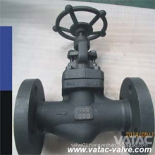 Forged Steel RF Flange Globe Valve with Handwheel Operated