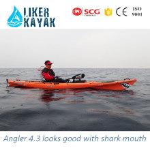 3 anos de garantia Preço de fábrica Kayak de polietileno