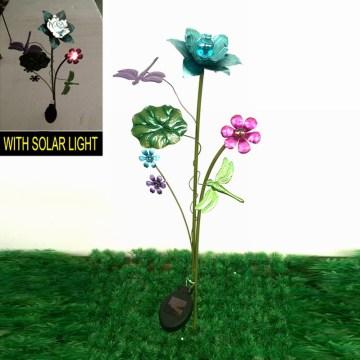 Металл Стрекоза Солнечное освещение Украшение Сад