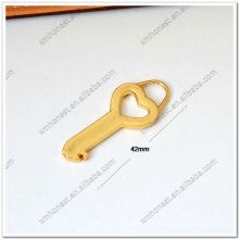 decorative metal zipper pull