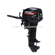 Motor de HANGKAI 15HP 2 tempos motor de popa usado em barcos