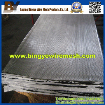 Metal perforado con láminas de acero inoxidable
