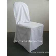 white colour standard banquet chair cover pattern,CTV550