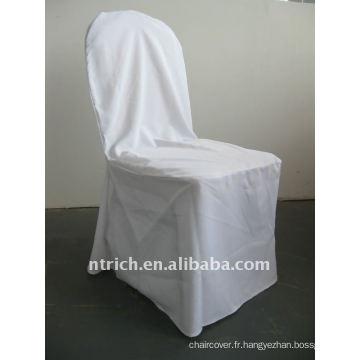 modèle de couverture de chaise de banquet standard de couleur blanche, CTV550
