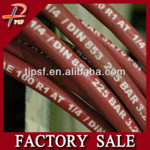 PSF Best supplier for SAE R1 R2 R12 Rubber Hydraulic Hose