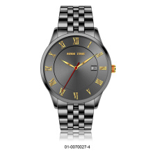 branded stylish stainless steel case 316l mens watch