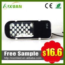 Moda barata 24w diodo emissor de luz de rua com fotocélula