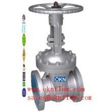 2 WCB/WCC/WC1 flanged gate valve/sales@oknflow.com
