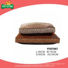 Rectangle Cheap Large Dog Bed, insertion de lit de chien (YF87067)